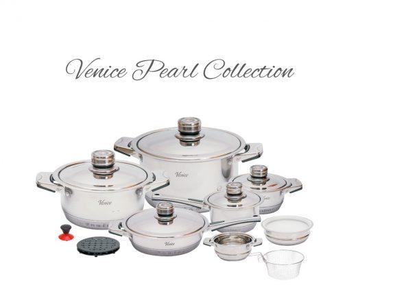 oryginalne garnki venice pearl collection 19 cena opinie